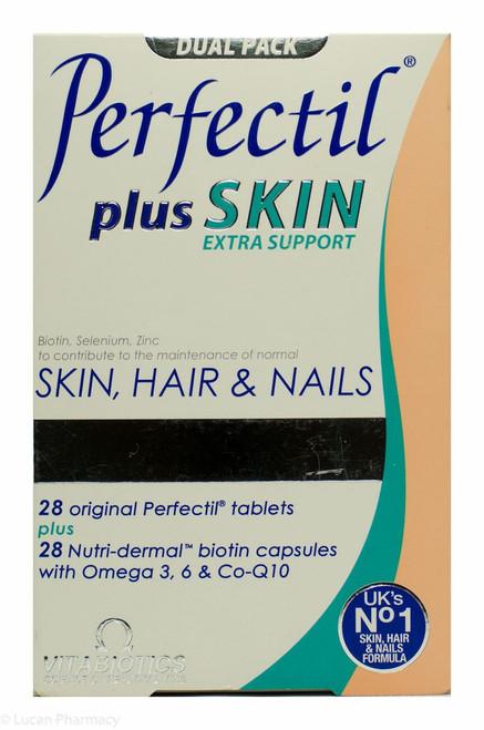 Vitabiotics Perfectil® Plus Skin Extra Support - Dual Pack 28 Capsules & Tablets