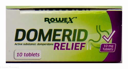 Domerid Relief 10mg 10 Tablets P Lucan Village Pharmacy