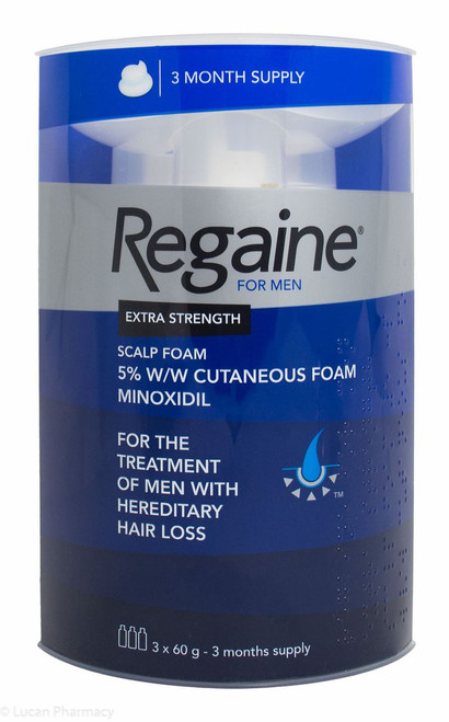 Regaine® Extra Strength Scalp Foam 73ml - 3 Month Supply