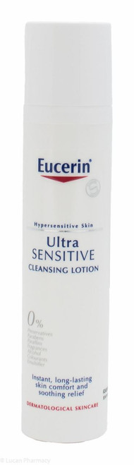 Eucerin® UltraSENSITIVE Cleansing Lotion – 100ml