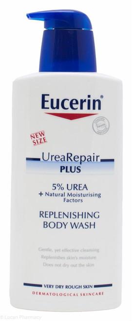 Eucerin® Urea Repair Plus 5% Urea Replenishing Body Wash – 400ml