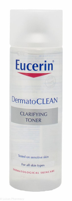 Eucerin® DermatoCLEAN Mild Cleansing Milk – 200ml