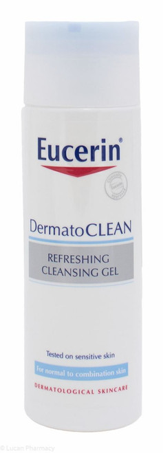 Eucerin® DermatoCLEAN Refreshing Cleansing Gel – 200ml