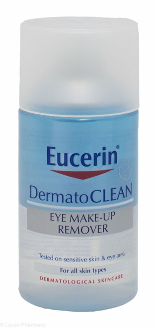 Eucerin® DermatoCLEAN Waterproof Eye Make-up Remover – 125ml
