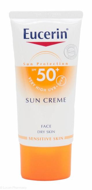 Eucerin® Sun Face Creme SPF 50+ High UVB + UVA Protection – 50ml