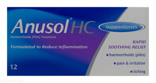 Anusol® HC Suppositories – 12 Pack #P