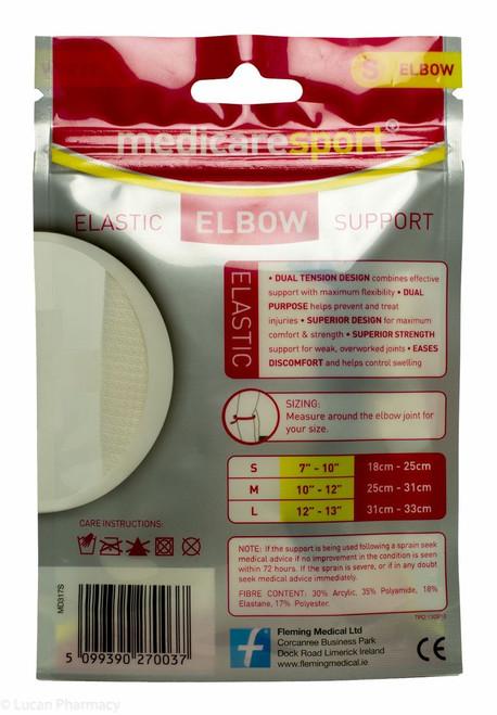 c2d1a847b0 Medicare Sport+® Elastic Elbow Support - S - Lucan Village Pharmacy