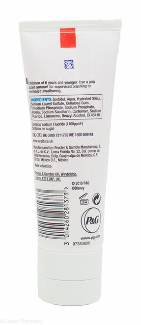 Oral-B® Pro-Expert Stages Disney Princess Bubble Gum Fluoride Toothpaste  75ml