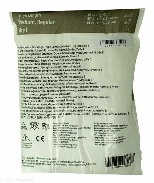 68dd37915c ... T.E.D.® Anti-Embolism Stockings TED - Thigh Length Medium Regular (Size  E)