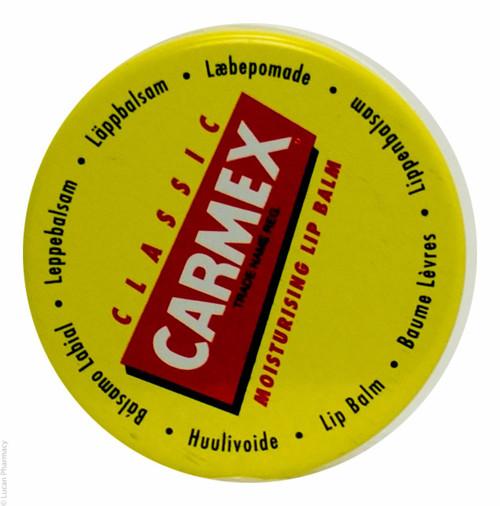 Carmex® Classic Moisturising Lip Balm Pot - 7.5g