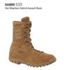 BELLEVILLE 533 SABRE HOT WEATHER ASSAULT BOOTS / COYOTE BROWN