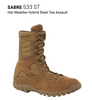 BELLEVILLE 533 ST SABRE HOT WEATHER STEEL-TOE ASSAULT BOOTS