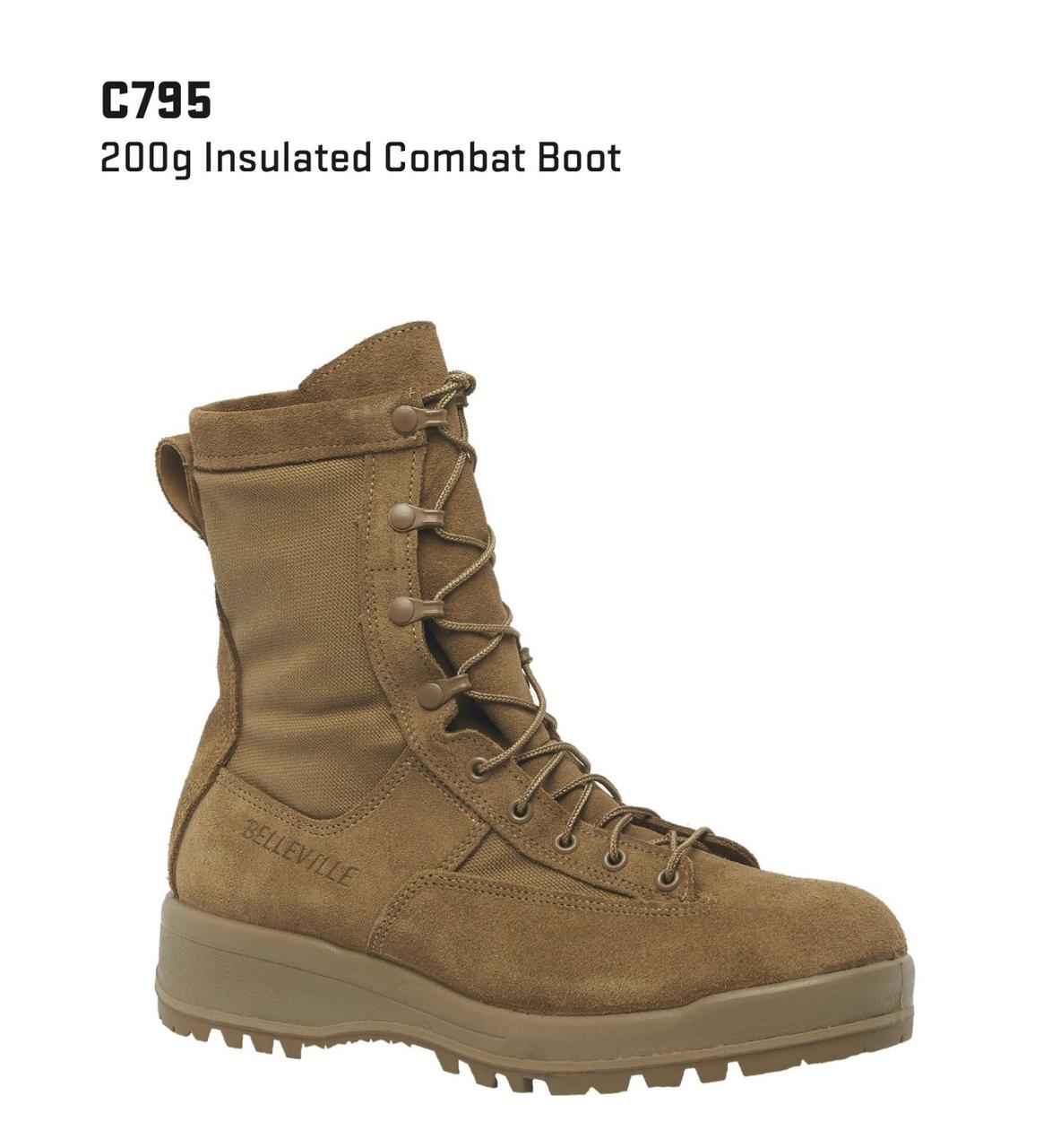 "Belleville 770V Men 8/"" 200G Insulated Waterproof Combat and Flight Boot US Made"