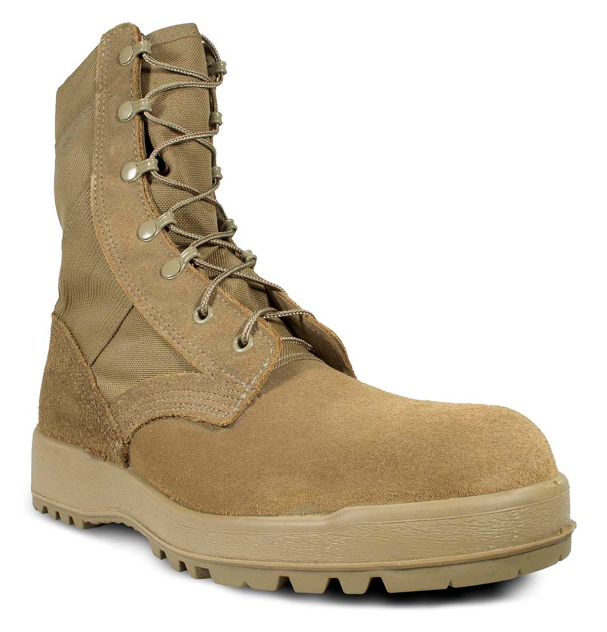 "McRae 8"" Mil-Spec Hot Weather Coyote Boot USA-Made with Vibram Sierra Outsole - Style #8189"