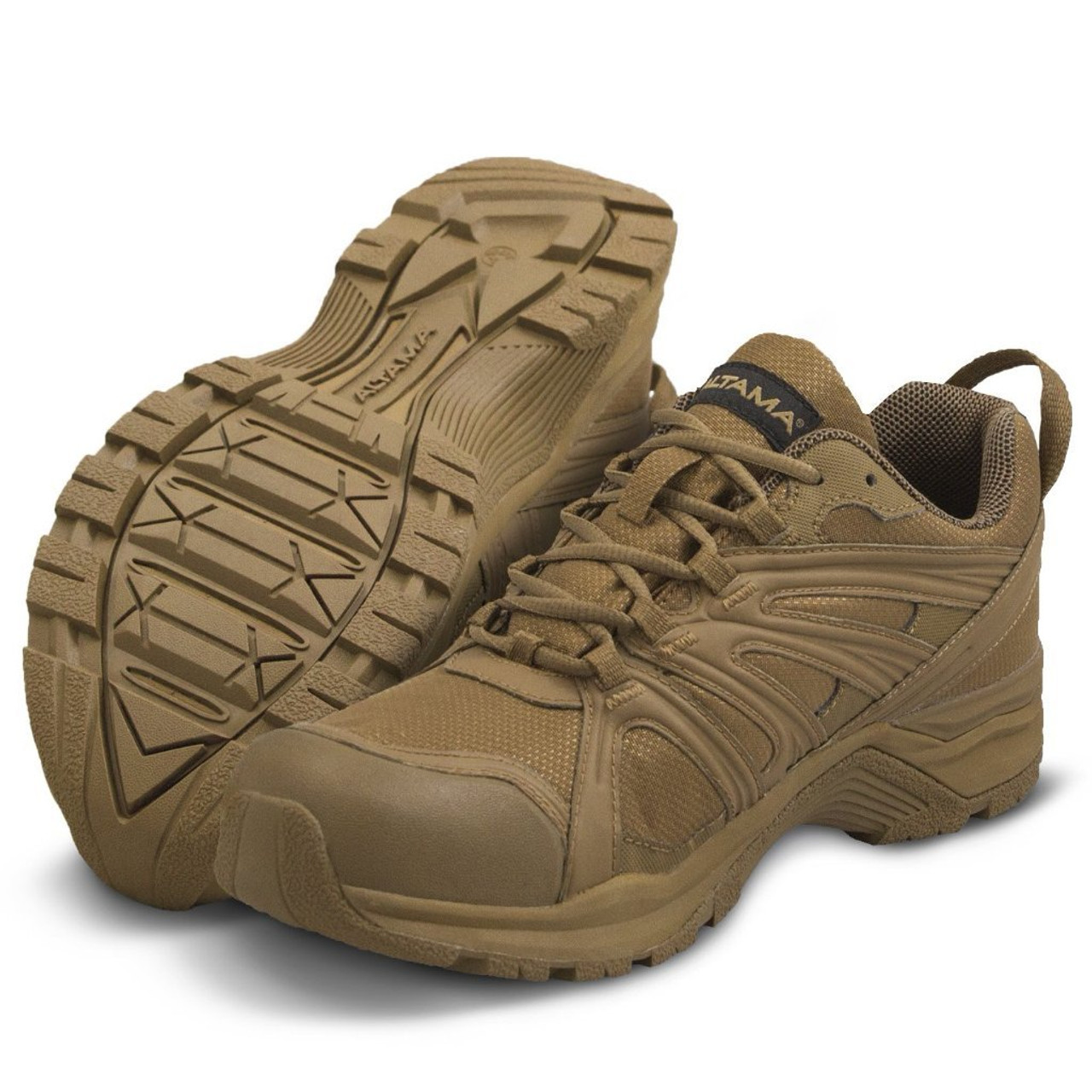 """ALTAMA ABOOTTABAD TRAIL LOW 4"""" TACTICAL BOOTS 355003 / COYOTE"""