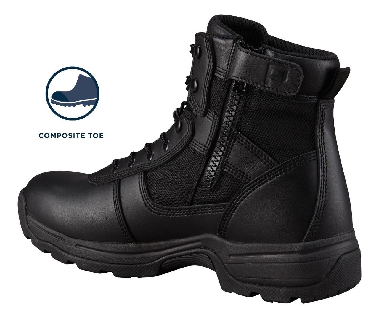 "Propper Series 100® 6"" Side Zip Boot Waterproof Composite Toe F4528"