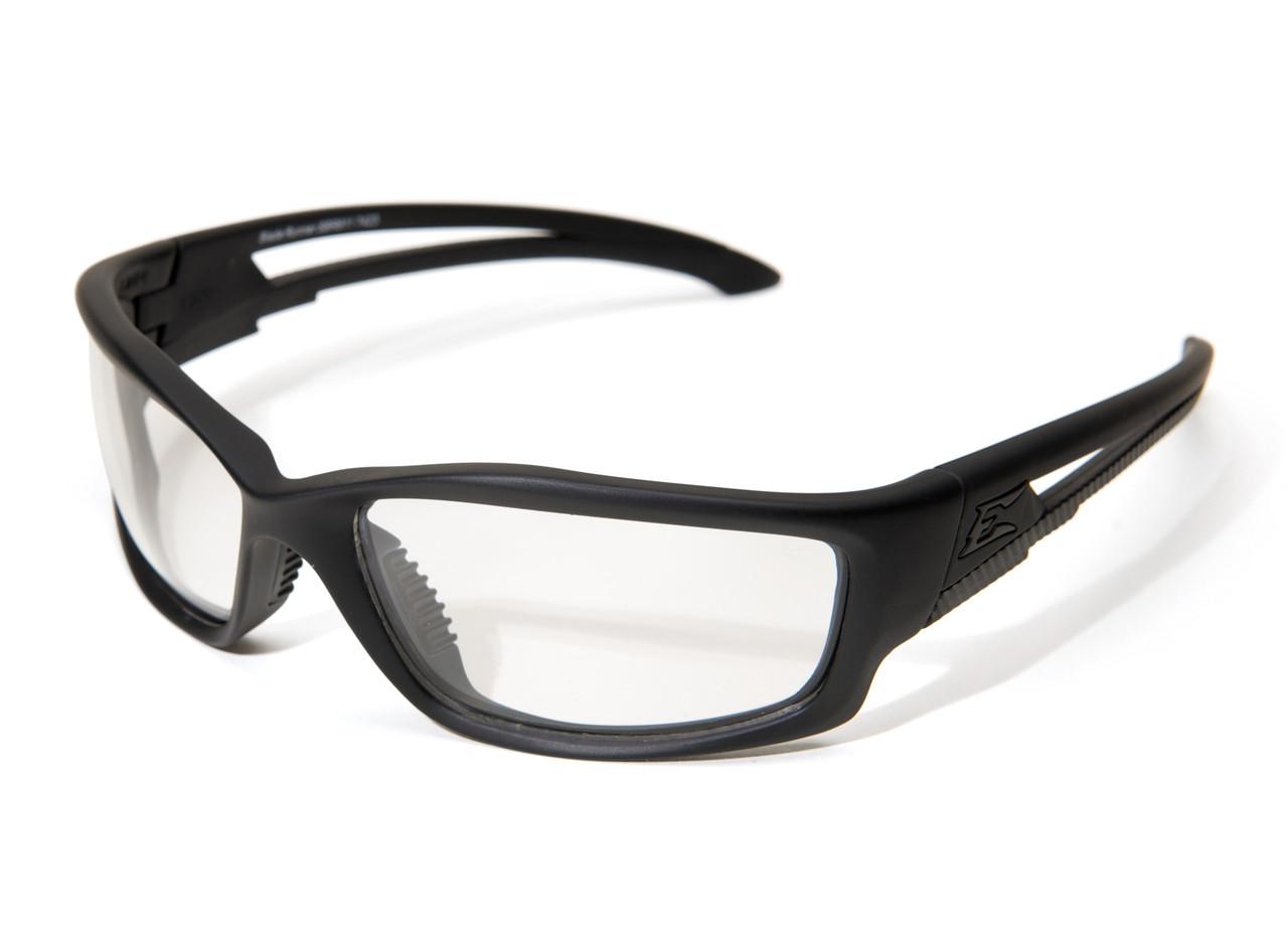 EDGE EYEWEAR SG611 Acid Gambit Safety Glasses With Clear Anti-Fog,