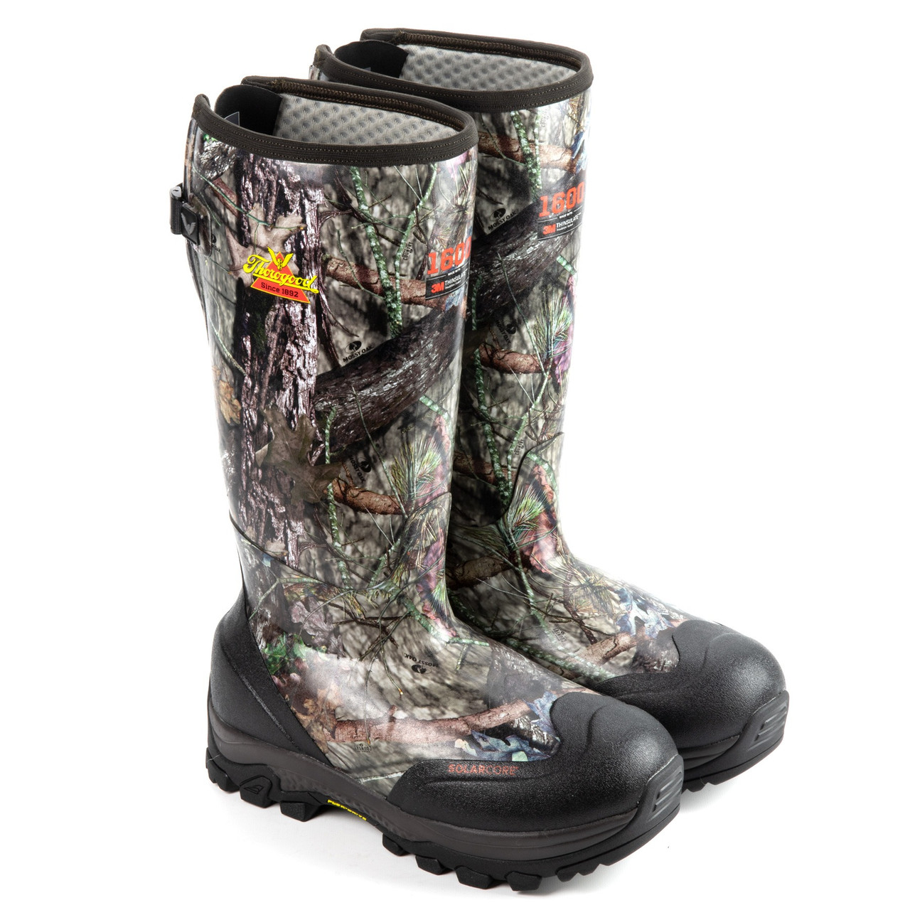 """THOROGOOD INFINITY FD MOSSY OAK® 1600G INSULATED 17"""" RUBBER BOOTS 867-0116"""