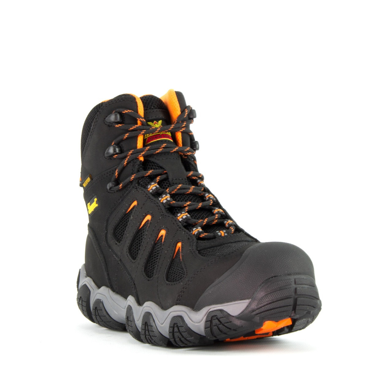 "THOROGOOD CROSSTREX 6"" WATERPROOF COMPOSITE TOE HIKER BOOTS 804-6296"