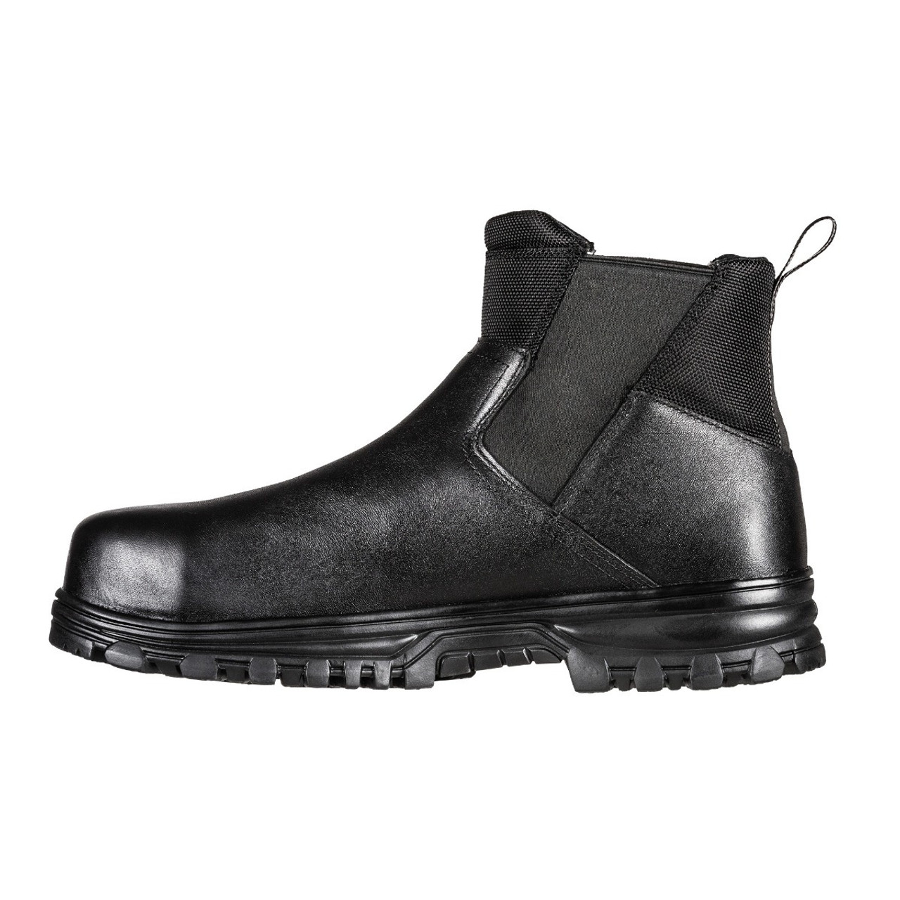 5.11 TACTICAL COMPANY 3.0 SLIP-ON CARBON TAC TOE DUTY BOOTS 12421