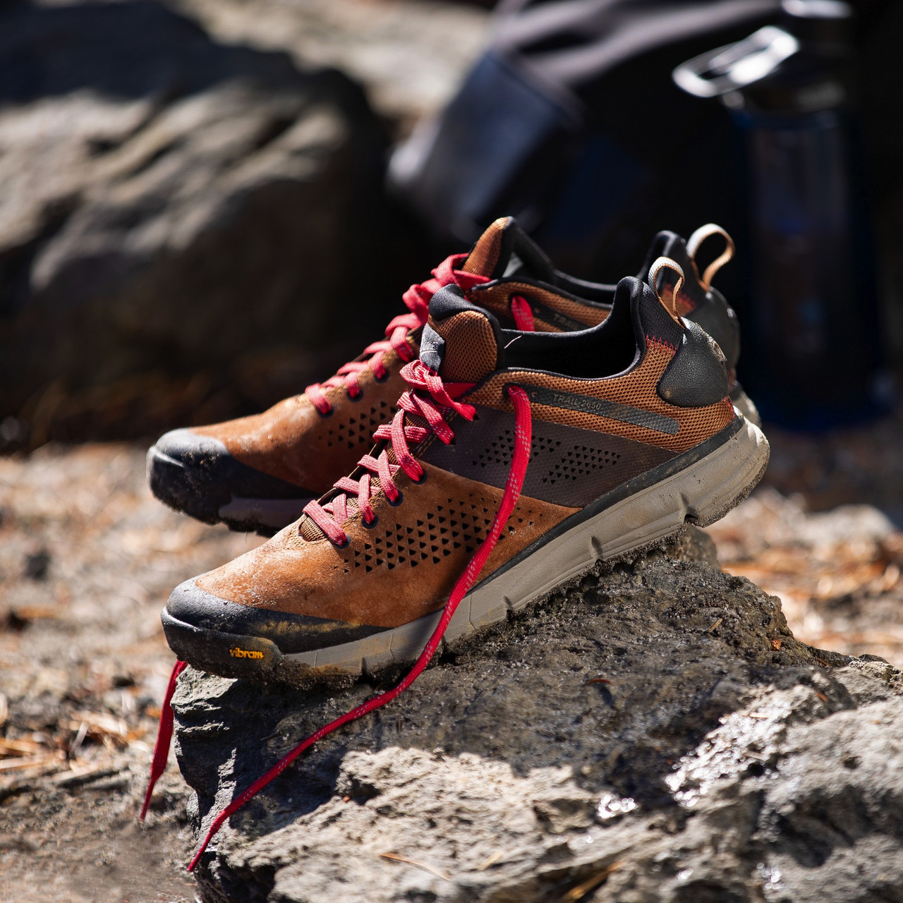 """DANNER® TRAIL 2650 3"""" BROWN/RED OUTDOOR BOOTS 61272"""