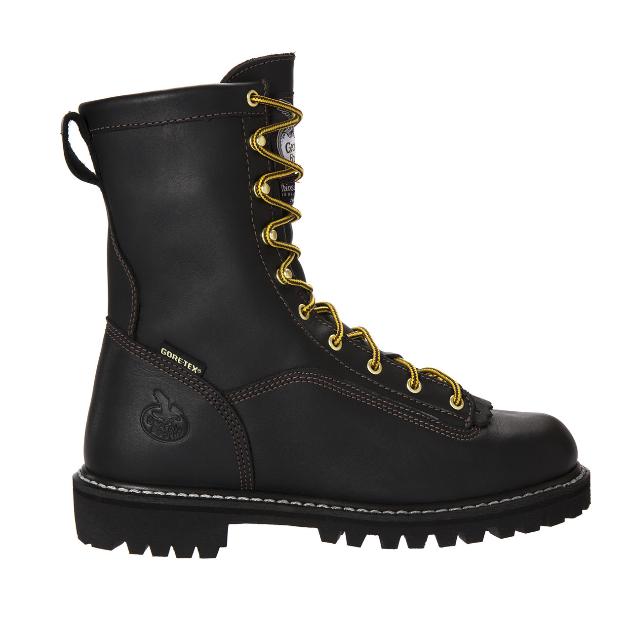b69fbbd5d02 Georgia Boot Lace-to-Toe GORE-TEX Waterproof Insulated Work Boots G8040
