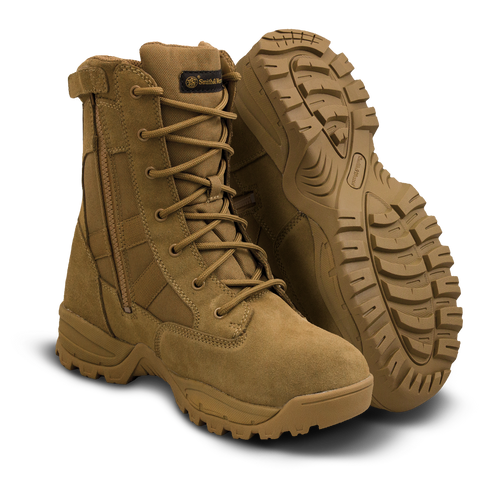 SMITH &  WESSON BREACH 2.0 WATERPROOF SIDE-ZIP BOOTS 810403 / COYOTE