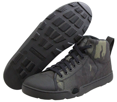 ALTAMA OTB MARITIME ASSAULT MID TACTICAL BOOTS 333051 / BLACK MULTICAM