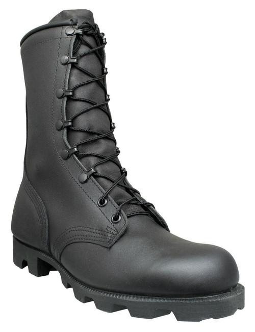 "McRae 8"" Panama All-Leather USA-Made Military Boots 6189 Black"