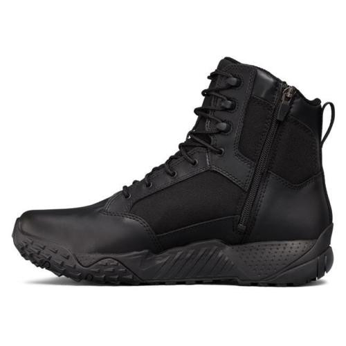 UNDER ARMOUR STELLAR TACTICAL SIDE-ZIP BOOTS 1303129 / BLACK 001