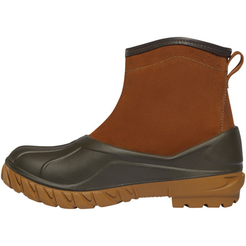 "LACROSSE AERO TIMBER TOP 6"" CLAY BROWN SLIP-ON POLYURETHANE OUTDOOR BOOTS 664531"