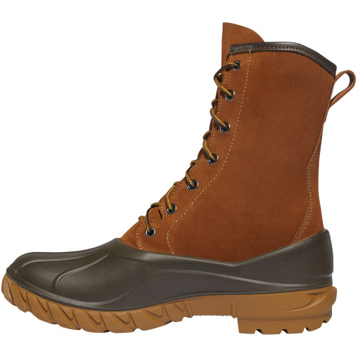 "LACROSSE AERO TIMBER TOP 10"" CLAY BROWN POLYURETHANE OUTDOOR BOOTS 664501"