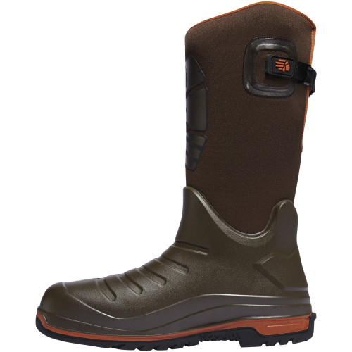 "LACROSSE AERO INSULATOR 14"" BROWN POLYURETHANE OUTDOOR BOOTS 664552"