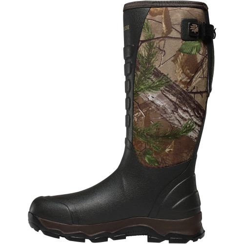 """LACROSSE 4XALPHA 16"""" REALTREE XTRA 3.5MM POLYURETHANE OUTDOOR BOOTS 376101"""