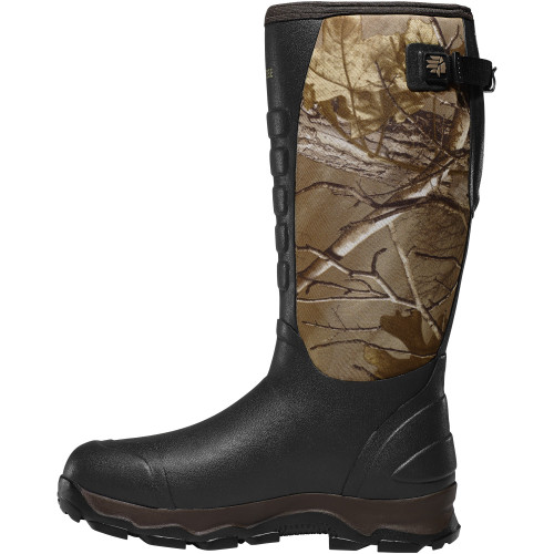 """LACROSSE 4XALPHA 16"""" REALTREE XTRA 7MM POLYURETHANE OUTDOOR BOOTS 376103"""