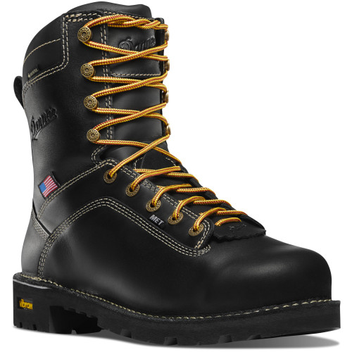 "DANNER® QUARRY USA 8"" ALLOY TOE WATERPROOF WORK BOOTS 17311"