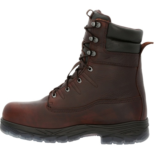 """ROCKY FORGE 8"""" COMPOSITE TOE WORK BOOT RKK0360"""