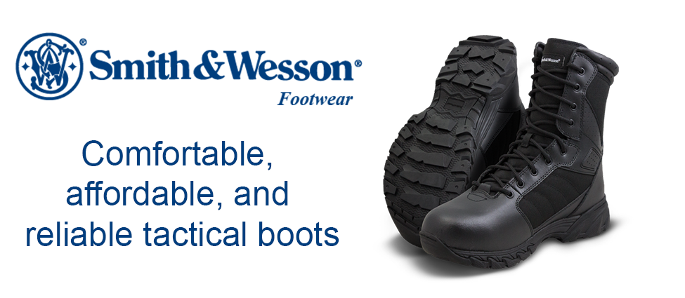 Browse our Smith & Wesson Boots