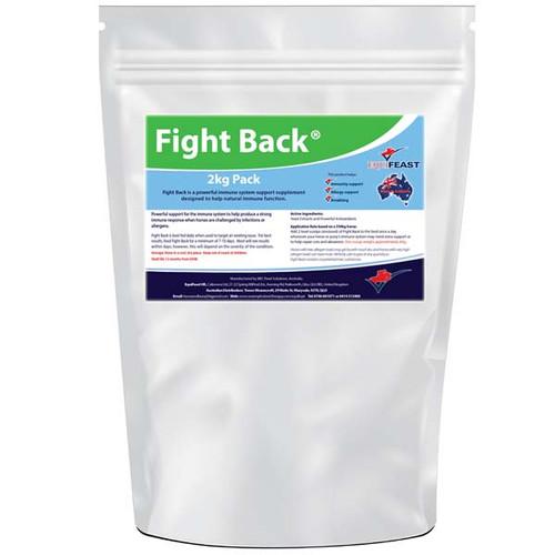Immune boosting supplement for horses