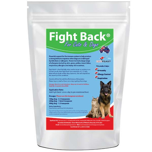 Immune boosting pet supplement