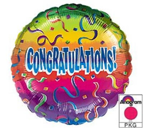Congratulations! Mylar Balloon