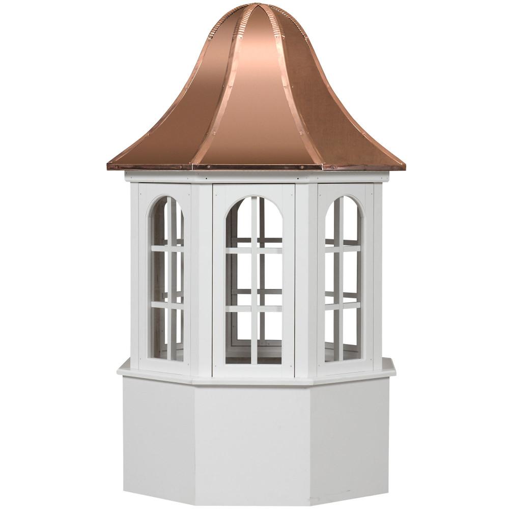 Estate Villa Vinyl Cupola With Windows
