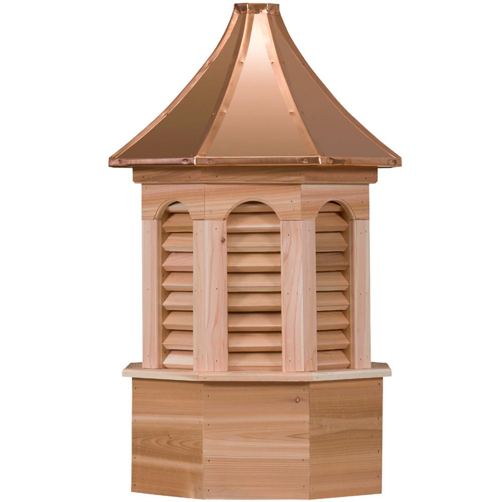 Estate Kingston Cedar Cupola With Louvers