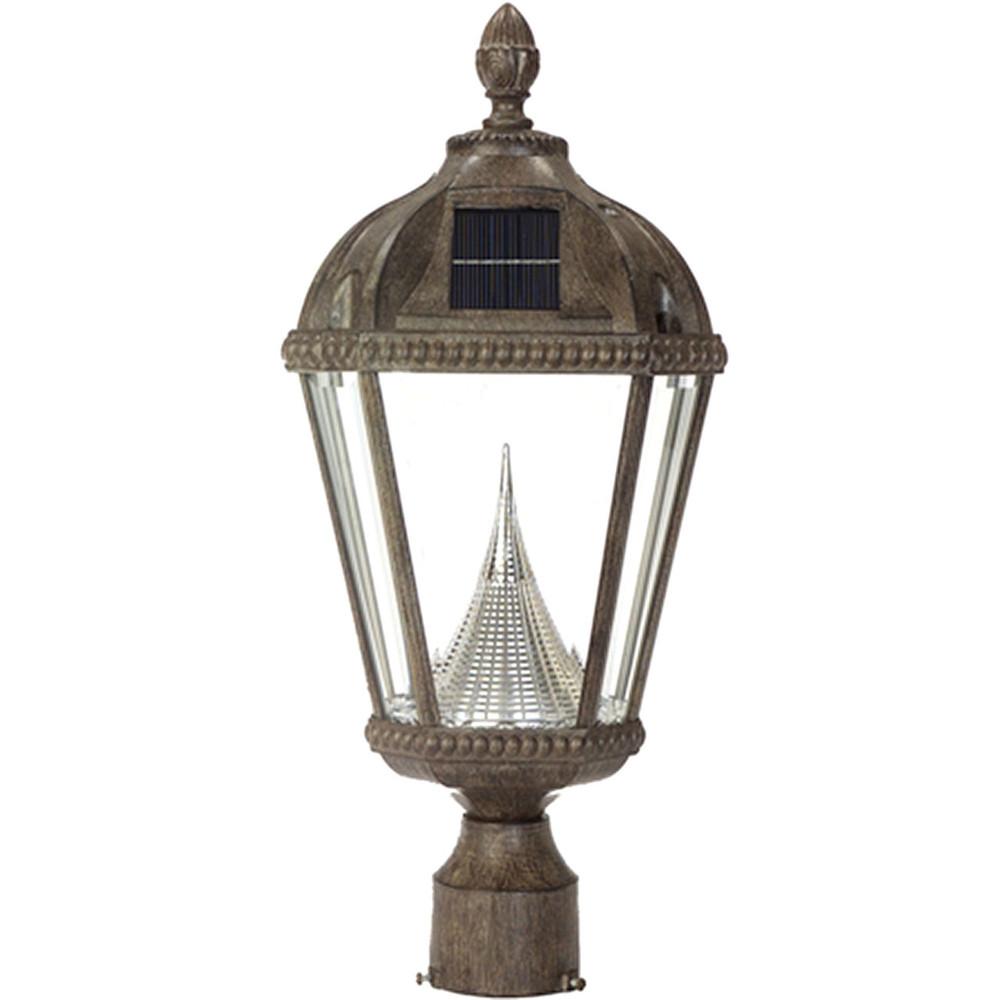 Royal Bronze Solar Lantern