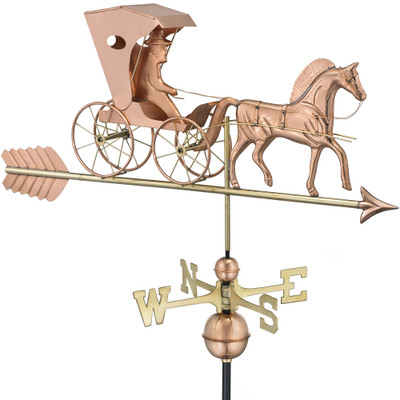 Country Doctor Copper Weathervane