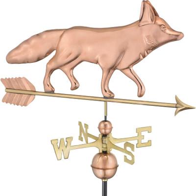 Sly Fox Copper Weathervane