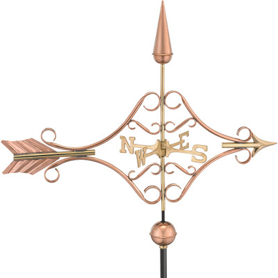 Victorian Arrow Copper Weathervane