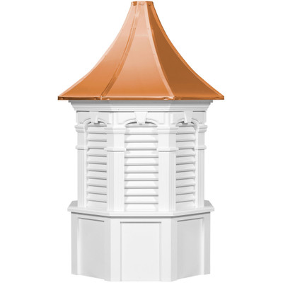 Signature Oxford Vinyl Cupola With Louvers