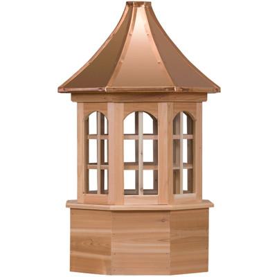 Estate Salisbury Cedar Cupola With Windows