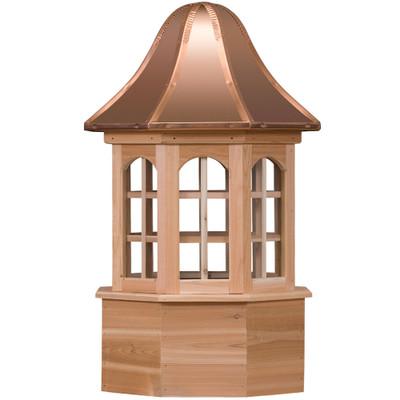 Estate Villa Cedar Cupola With Windows